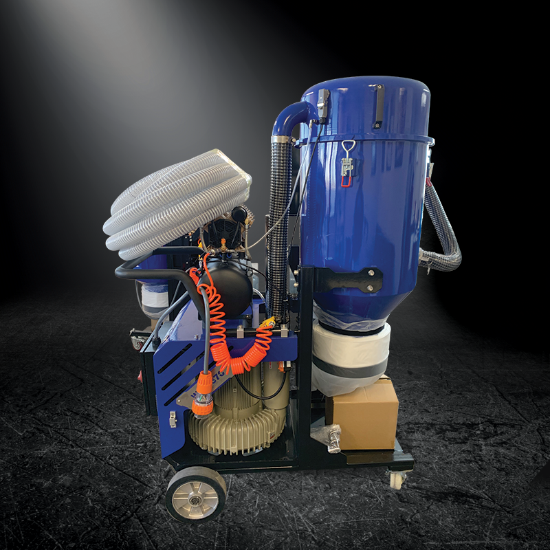 Dust recovery made easy with the warrior vac