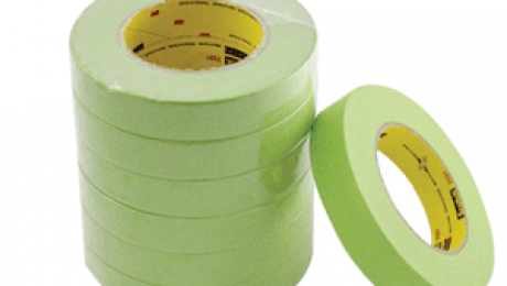 Concrete Finishes Made Easy with Green Masking Tape